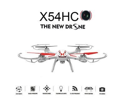 Syma X54HC HD camera Drone  + Altitude mode wit
