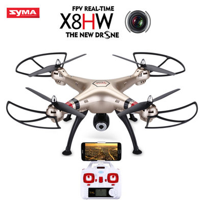 Syma X8HW met HD 720p WiFi camera + barometer