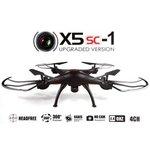 Syma X5SW met HD Camera -Drone - zwart