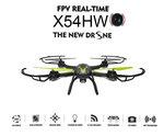 Syma X54HW drone fpv live camera met altitude mode -zwart