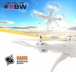 Syma X8W drone FPV live hd camera quadcopter -wit