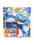 Bellenblaas speelgoed pistool- Dolfijn - blauw