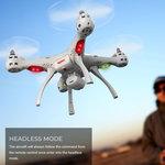 Syma X8SW-D Quadcopter Drone -HD Live Draaibaar Camera FPV- 2.4Ghz