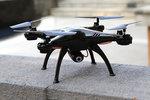 Syma X5Sw drone fpv live camera -2.4ghz - vliegklaar! - zwart