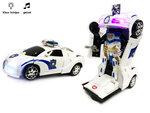Politie Robot Car 2 in 1 robot en auto | Pioneer