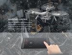 Syma X25 Pro Drone -GPS & terugkeer functie- Follow me - FPV Live draaibaar Camera -x25pro