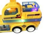 Rc intelligent Truck + RC Graafmachine Truck afstand bestuurbaar - led lichtjes & geluid Voordeel pak 2 stuks