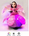 Little Princess Blauw + Dancing Angel Girl roze| incl. Batterij