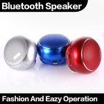 Draadloos Bluetooth wireless speaker -zilver