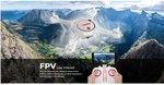 Syma X5UW-D drone -Optical Flow Positioning- FPV  Draaibaar camera - Hovermode -App control functie