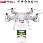 Quadcopter Syma X8SW-D Drone met HD draaibaar live camera + hover functie
