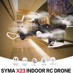 Syma quadcopter X23 -one key take off/landing functie - Hover mode - drone zwart