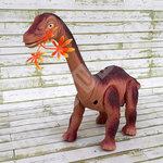 Dinosaurus speelgoed - Diplodocus - Dino geluiden - legt eieren - 51CM