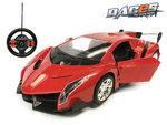 Rc race Sportwagen 1:14 - afstand bestuurbaar auto - stuurwiel zender - deuren open/dicht
