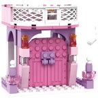 COGO Girls - Prinses kasteel - bouwsteen set van 167 stuks - bouwblokken
