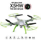 SYMA X5HW LIVE HD CAM DRONE 2.4GHZ Wit_