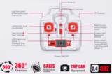 Syma X8W drone FPV live hd camera quadcopter -wit_
