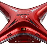 SYMA X13 STORM QUADCOPTER 4.CH. 2.4GHZ Rood_