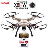 Syma x8hw Drone - FPV Live HD Camera quadcopter 2.4GHZ - Hovermode (barometer)_