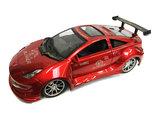 RC Race Model Auto |Red  Emulation Car 1:16 rood -oplaadbaar via usb_