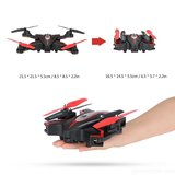 Syma X56W Folding Wizard Drone (opvouwbaar) met HD FPV live camera quadcopter -wit_