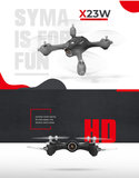 Syma X23W Quadcopter met Live camera - FPV - Beginners drone - wit_