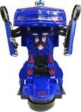 Speelgoed Robot met geluid en led lichtjes + Robot Car 2 in 1 robot en auto | incl. Batterij _