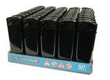 Electronic lighters Flame club - 50 stuks elektronische klik aanstekers_