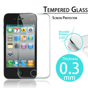 Glas voor iPhone 4 |Screen Protector for i4/4S 0.3mm