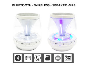 Wireless Bluetooth Mini Speaker |Draagbaar&Oplaadbaar -wit