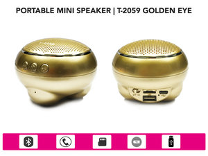 Draadloos Bluetooth wireless speaker -goud