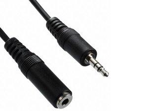 Jack Stereo audio Aux 3.5mm verleng kabel 10 meter | mannelijk - 3,5 mm jack vrouwelijk 3,5mm