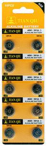 AG 8 / 391A batterijen 10 stuks in pak