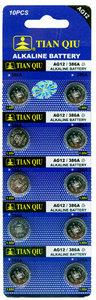 AG 12 / 386A batterijen 10 stuks in pak