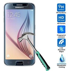 Samsung Galaxy S6 Glazen Screen protector Tempered Glass 2.5D 9H (0.3mm)