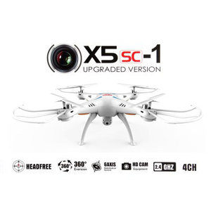 Syma X5SC met HD Camera -Drone - Wit