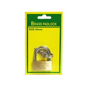 Hangslot 40MM |koffer slot |Bagageslot Brass padlock