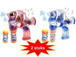 bellenblaas pistool speelgoed |combi pack 2 stuks
