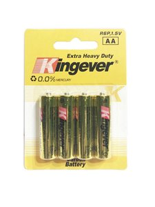 Kingever AA R6P 1.5V | GOLD edition