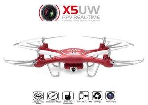 SYMA X5UW 720P HD live FPV Camera drone - App control +hovermode quadcopter (aktie)