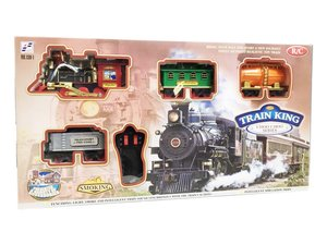 Smoking train speelgoed trein | 103x78CM - TRAIN KING (aktie)
