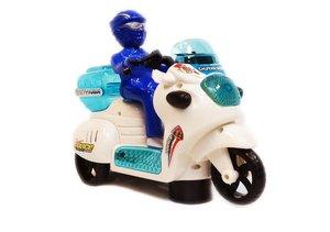 Speelgoed politiemotor met geluid en lichtjes |Police City
