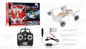 SYMA X9S FLYING CAR AND DRONE - vliegen & rijden 2in1 - wit