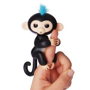 Finger Monkey -schattige baby aapje -zwart (oplaadbaar)