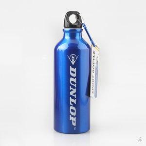 Sportfles 500ml aluminium Dunlop drinkfles -blauw