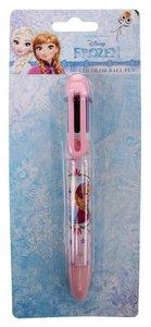 Disney Kleurenpen Frozen 6 Kleuren Roze 14 Cm