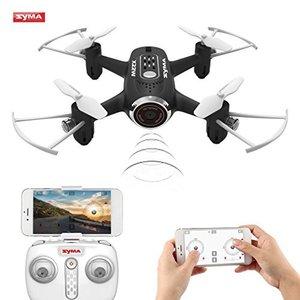 Syma X22W FPV live Camera Drone +app control functie -zwart