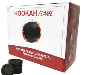Hookah Flame Charcoal- Waterpijp kooltjes 100 stuks in pak