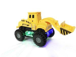 Speelgoed Graafmachine - Led lichtjes en muziek - Engineering World Truck
