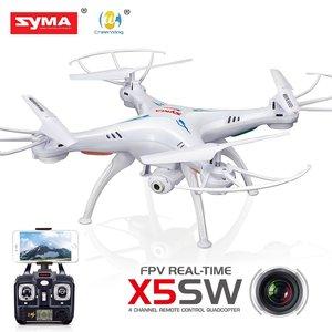 Syma X5Sw drone fpv live camera -2.4ghz -100% vliegklaar!